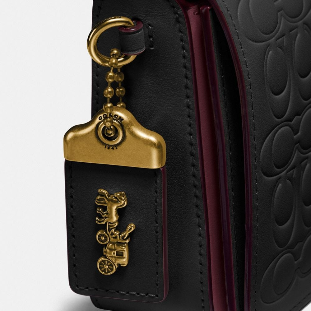 Coach Dinky in Signature Leather Alternate View 5
