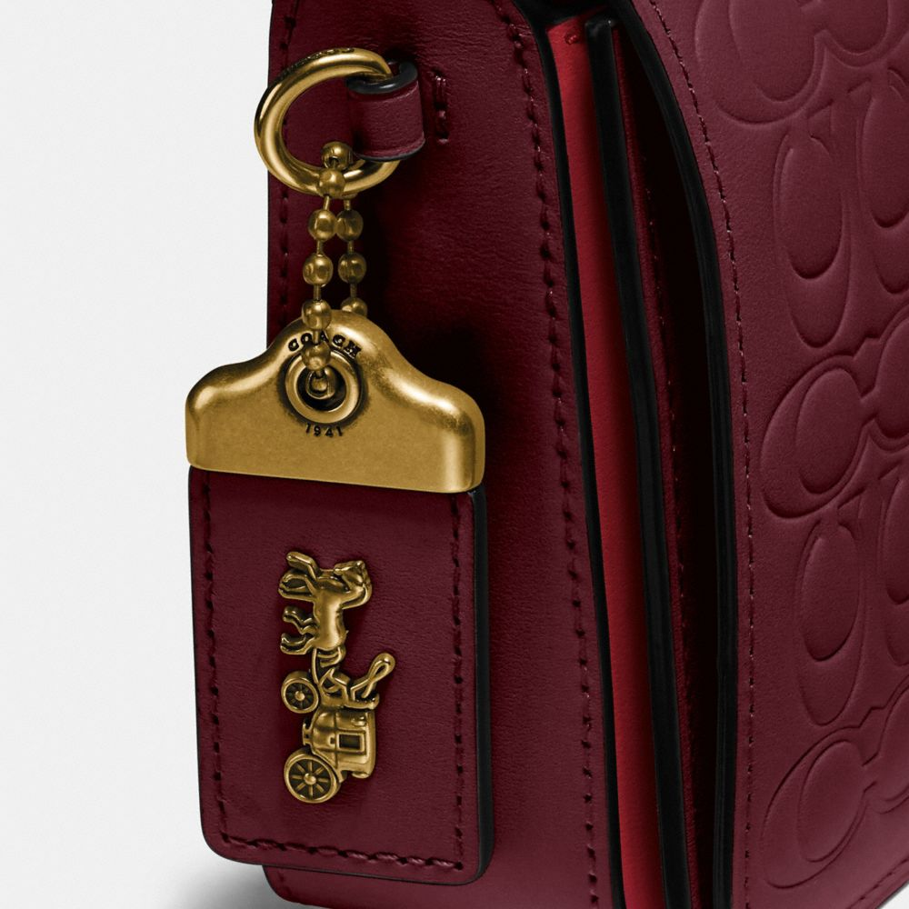Coach Dinky in Signature Leather Alternate View 6