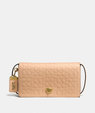 DINKY IN SIGNATURE LEATHER