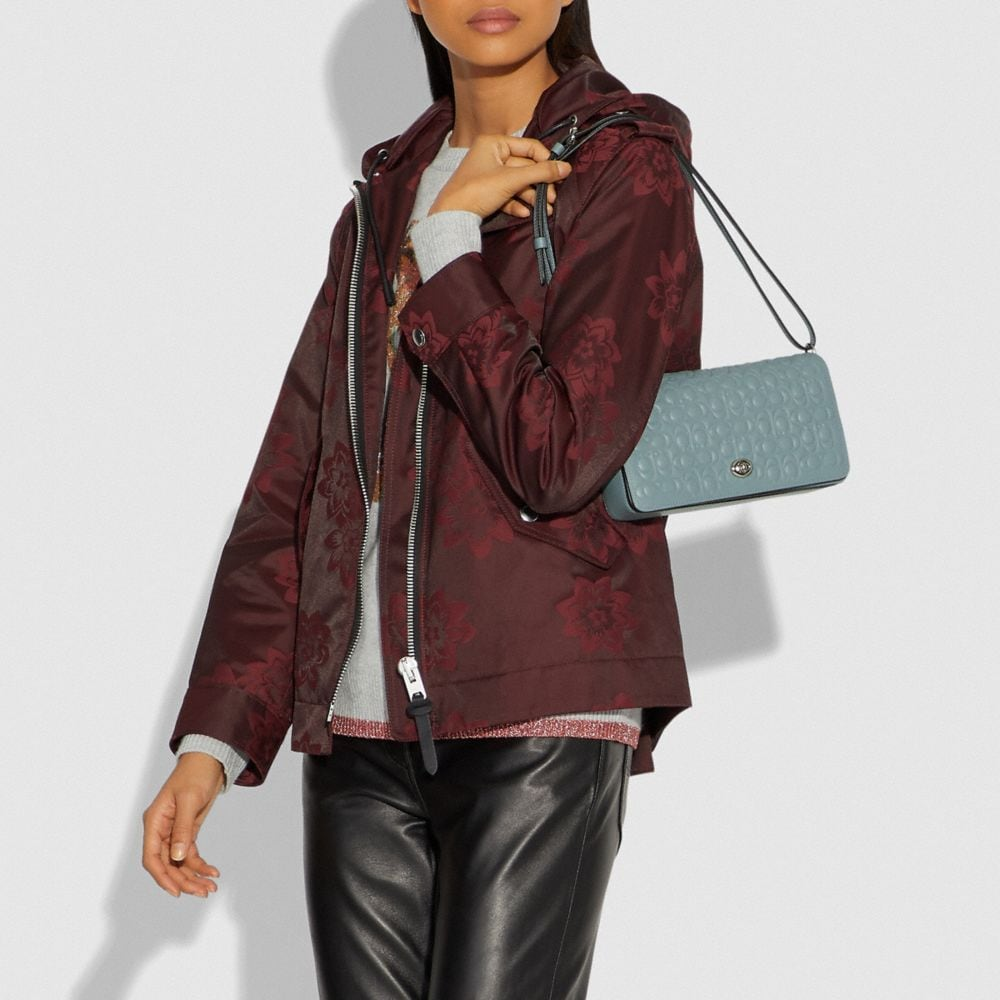 Coach Dinky in Signature Leather Alternate View 4