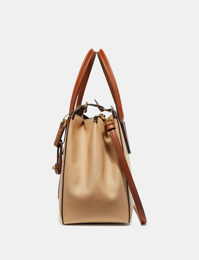 Coach Cooper Carryall in Colorblock Beechwood Multi  Alternate View 1