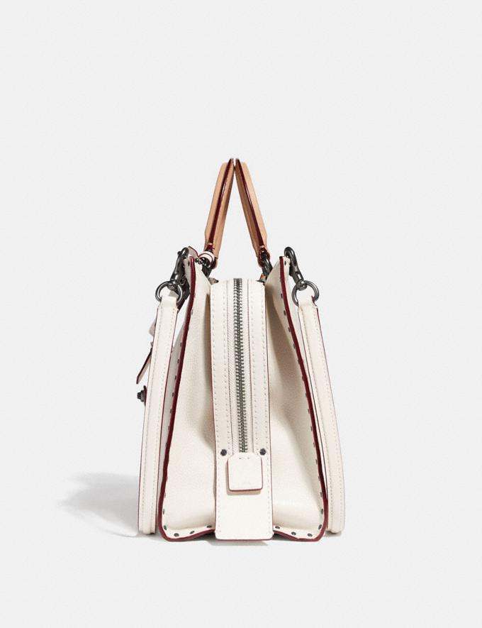 Coach Rogue With Rivets Chalk/Black Copper Women Collection Rogue Alternate View 1