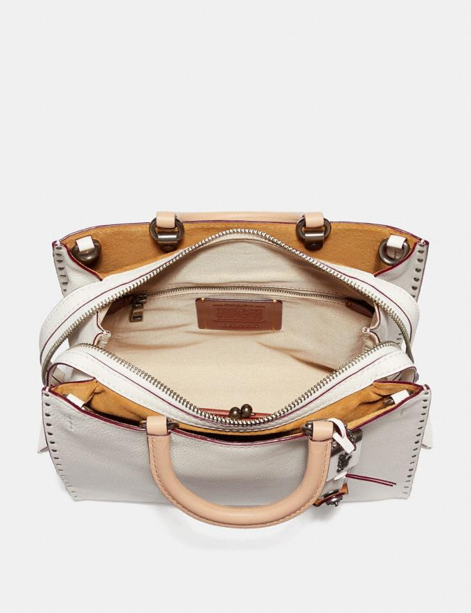 Coach Rogue With Rivets Chalk/Black Copper Women Collection Rogue Alternate View 2