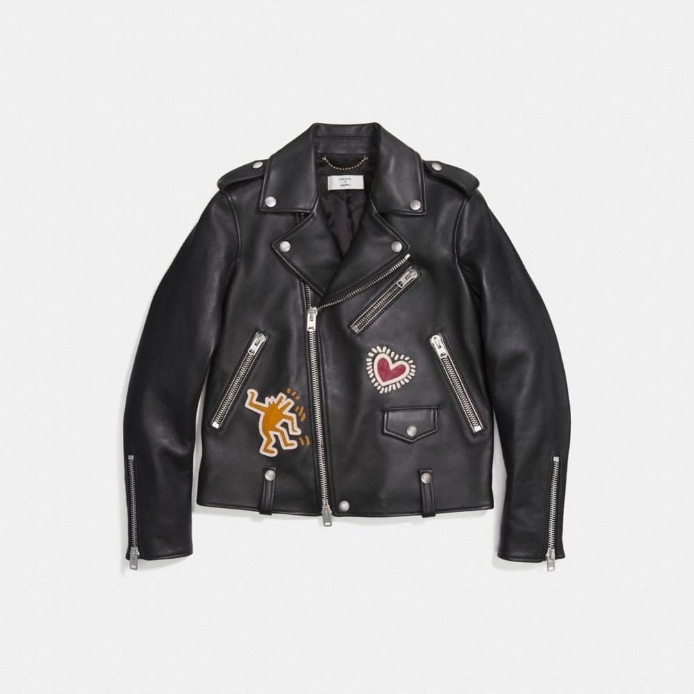 Coach Coach X Keith Haring Moto Jacket
