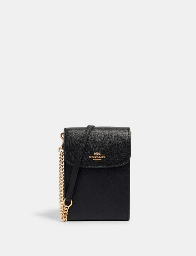 Coach Rachel Phone Crossbody Im/Black