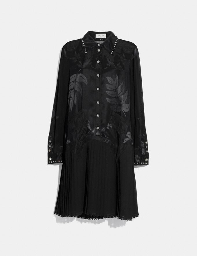 Coach Western Dress Black Women Ready-to-Wear Dresses