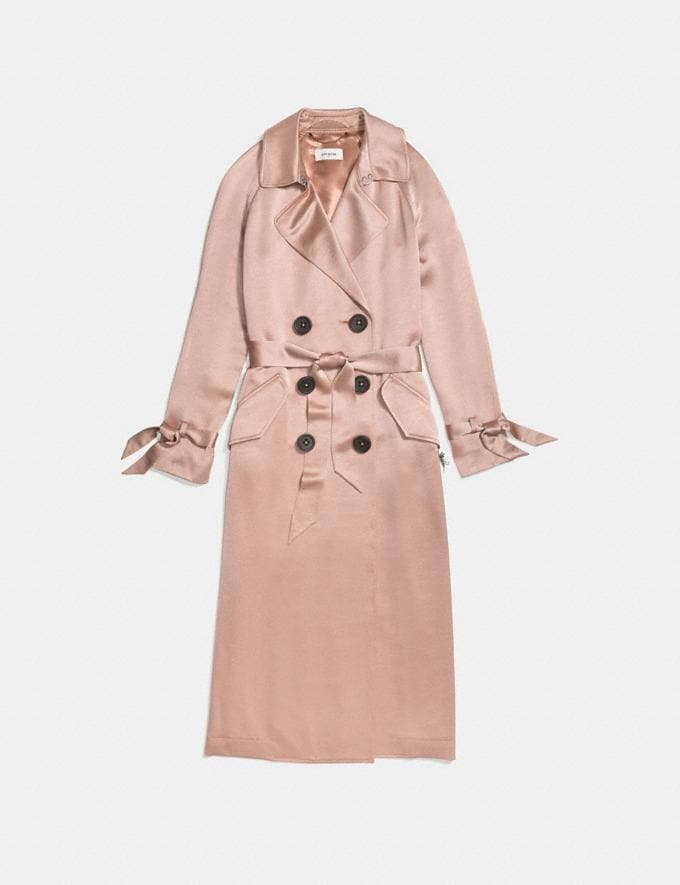 Coach Soft Trench Pink