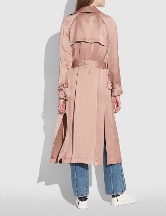 Coach Soft Trench Pink  Alternate View 2