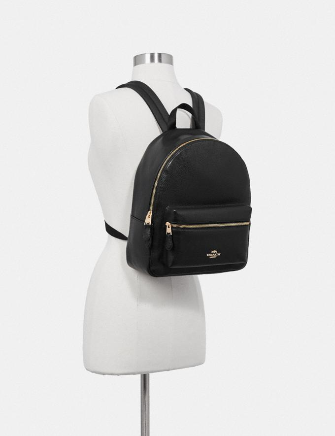 Coach Medium Charlie Backpack Im/Blossom Women Bags Alternate View 2