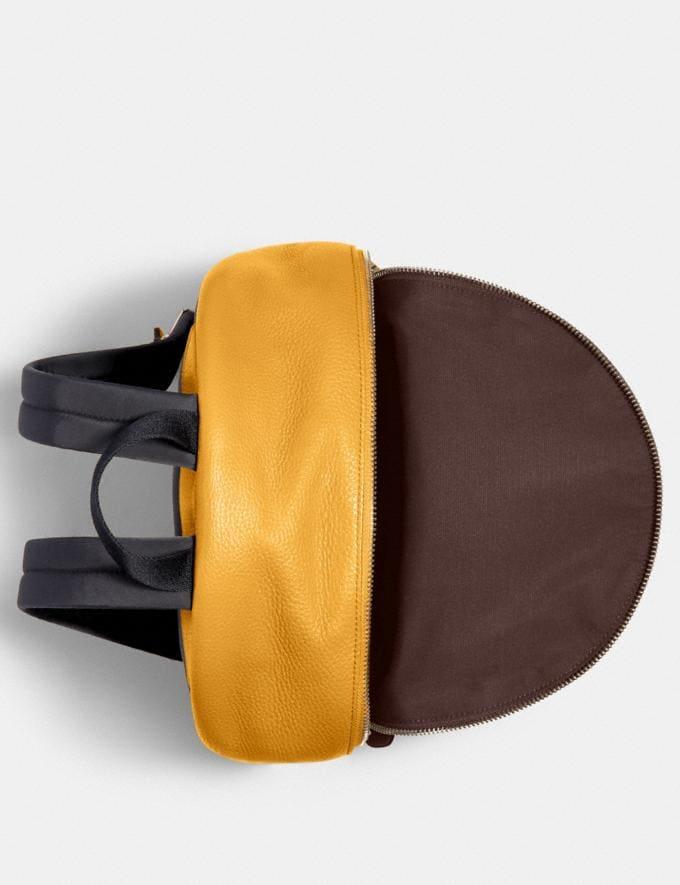 Coach Medium Charlie Backpack Qb/Honey Bags Bags Backpacks Alternate View 1