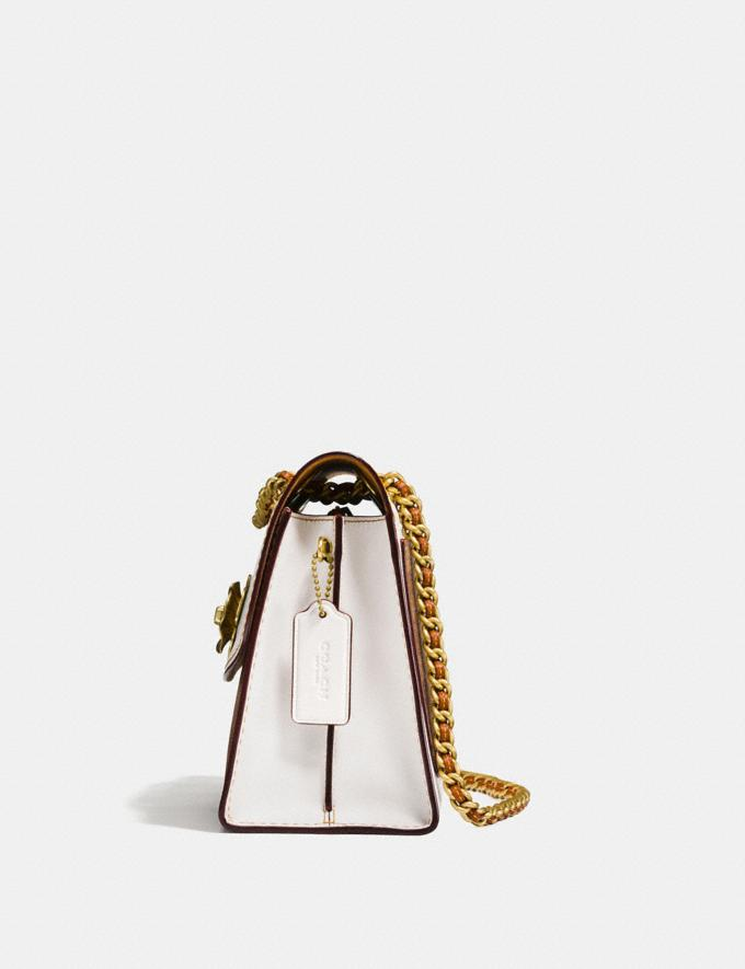 Coach Parker in Colorblock Signature Canvas Chalk/Brass Personalise For Her Bags Alternate View 1