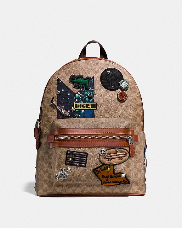 Coach Coach X Keith Haring Academy Backpack in Signature Patchwork