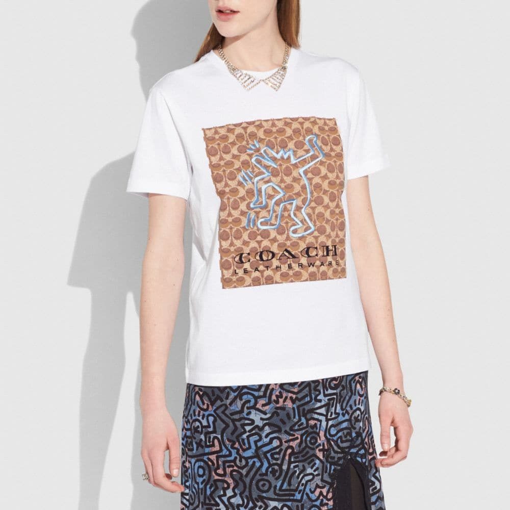 Coach Coach X Keith Haring T-Shirt Alternate View 1