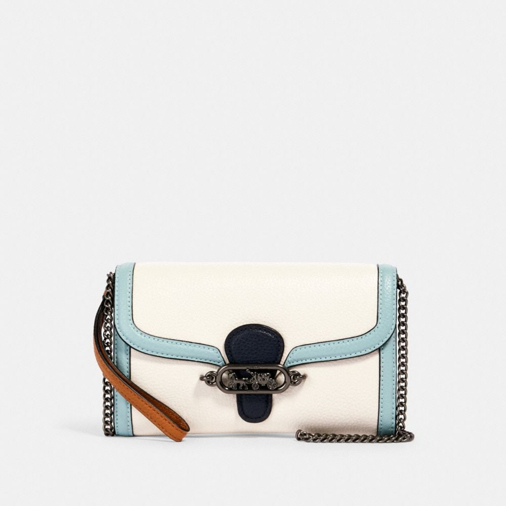 JADE CHAIN CROSSBODY IN COLORBLOCK   COACH® Outlet
