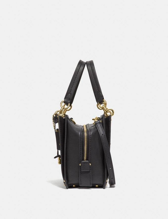 Coach Dreamer Black/Light Gold Customization For Her The Monogram Shop Alternate View 1