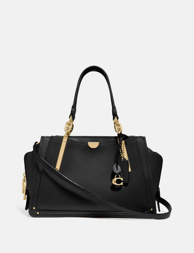 Coach Dreamer Black/Light Gold Customization For Her The Monogram Shop