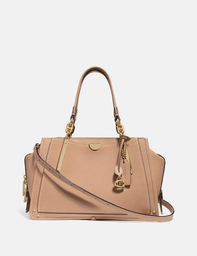 Coach Dreamer Beechwood/Light Gold Personalise Personalise It Monogram For Her