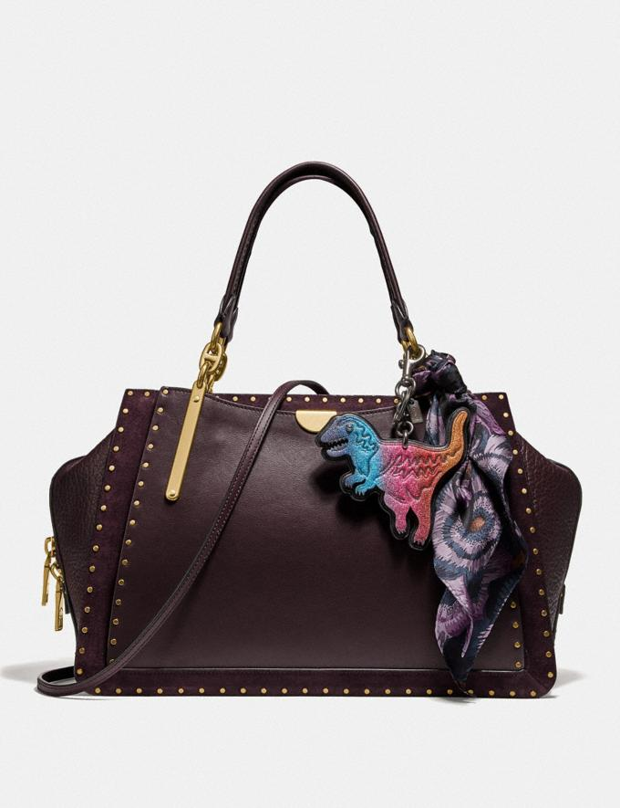 Coach Dreamer 36 With Rivets Oxblood/Brass New Featured Online Exclusives Alternate View 1