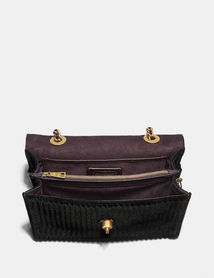 Coach Parker With Quilting Black/Brass New Featured Online-Only Alternate View 2