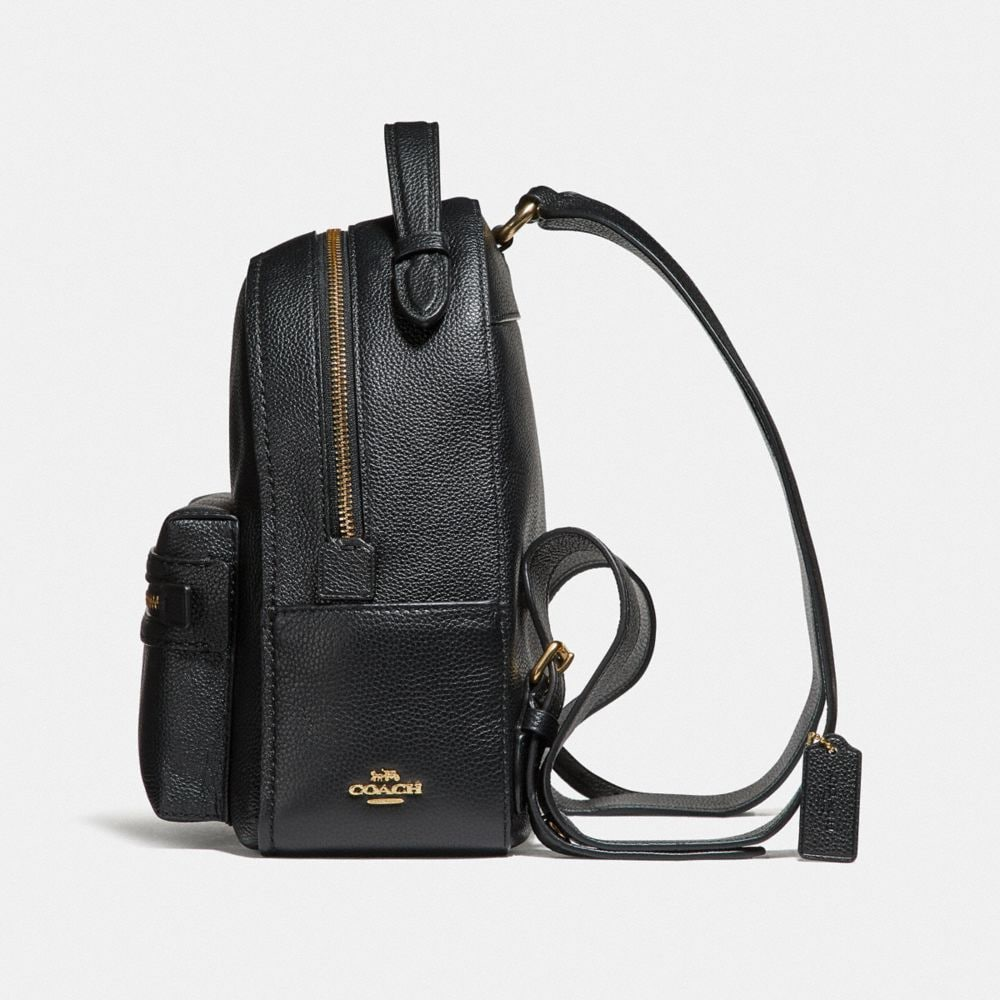 Coach Campus Backpack 23 in Polished Pebble Leather Alternate View 1