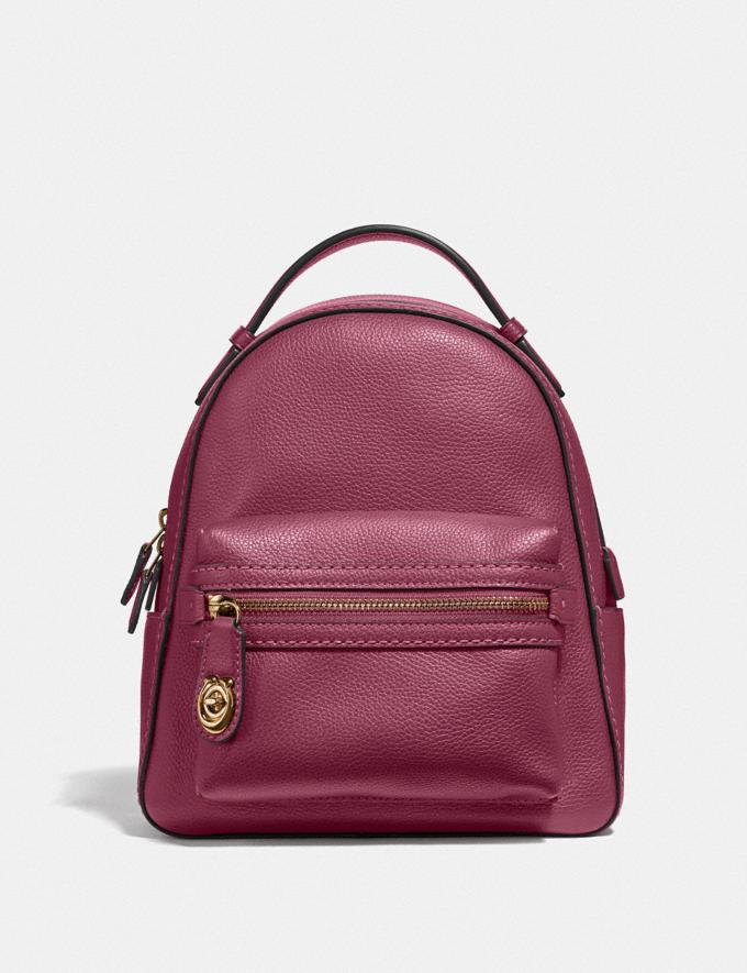 Coach Campus Backpack 23 Gd/Dusty Pink Cyber Monday