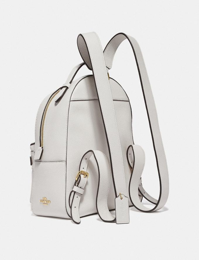 Coach Campus Backpack 23 Chalk/Gold SALE 30% off Select Full-Price Styles Women's Alternate View 1