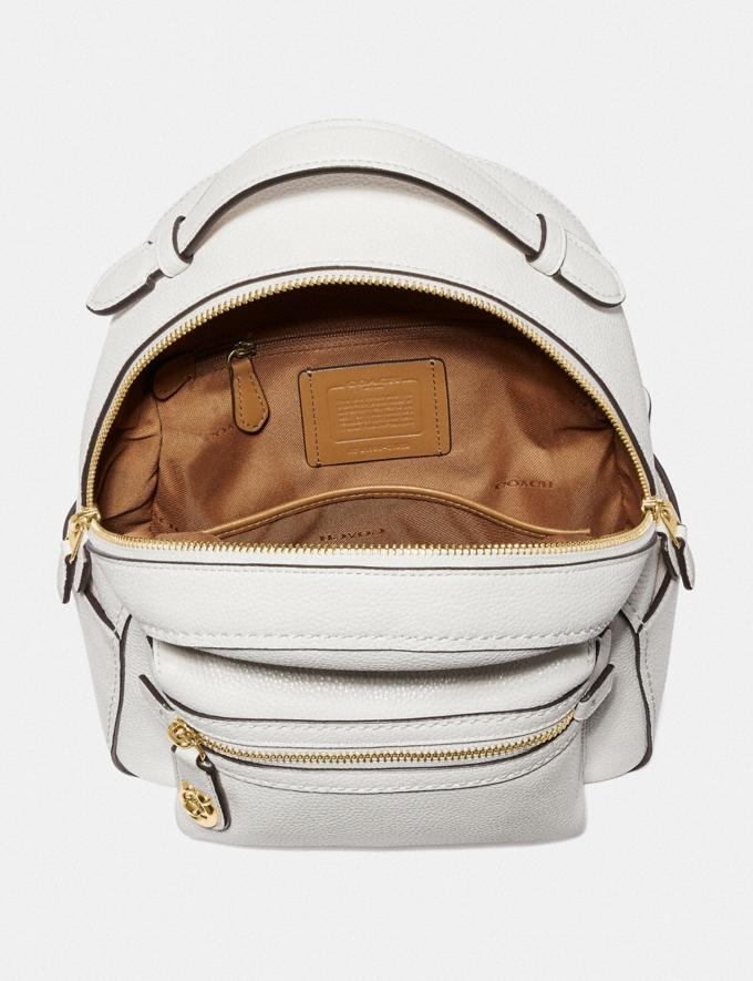 Coach Campus Backpack 23 Chalk/Gold SALE 30% off Select Full-Price Styles Women's Alternate View 2