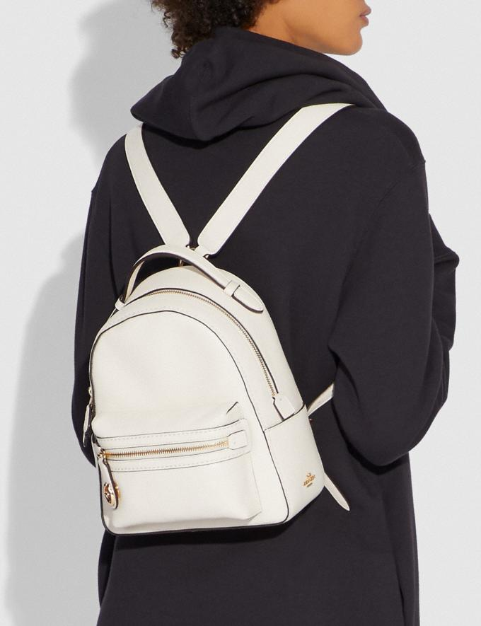 Coach Campus Backpack 23 Chalk/Gold SALE 30% off Select Full-Price Styles Women's Alternate View 3