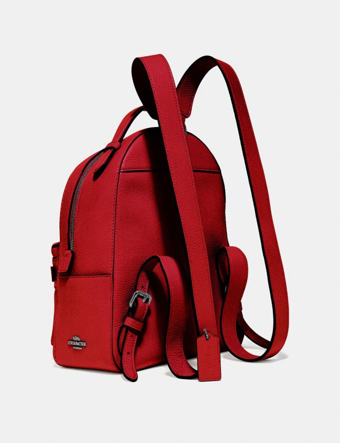 Coach Campus Backpack 23 Gunmetal/Red Apple Gifts For Her Under $300 Alternate View 1