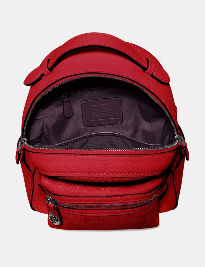 Coach Campus Backpack 23 Gunmetal/Red Apple Gifts For Her Under $300 Alternate View 2