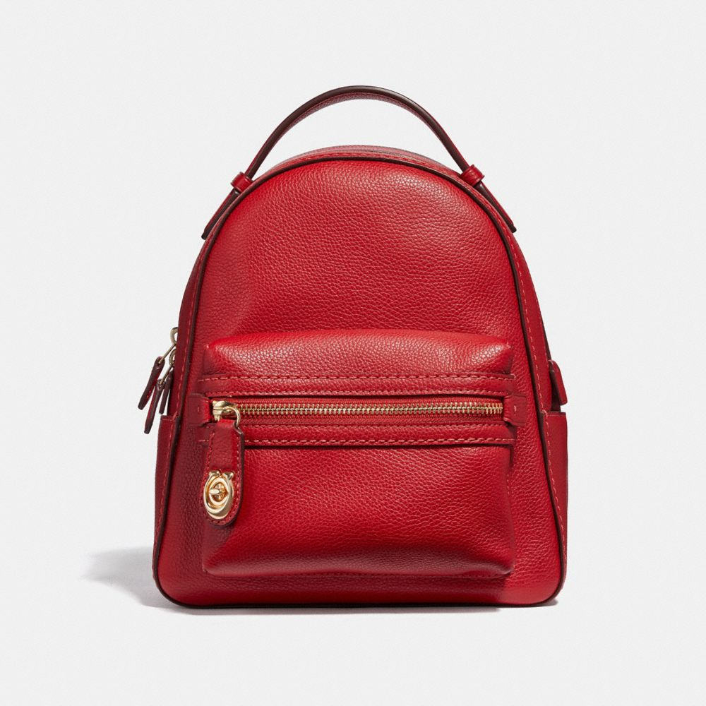 Coach Campus Backpack 23 in Polished Pebble Leather