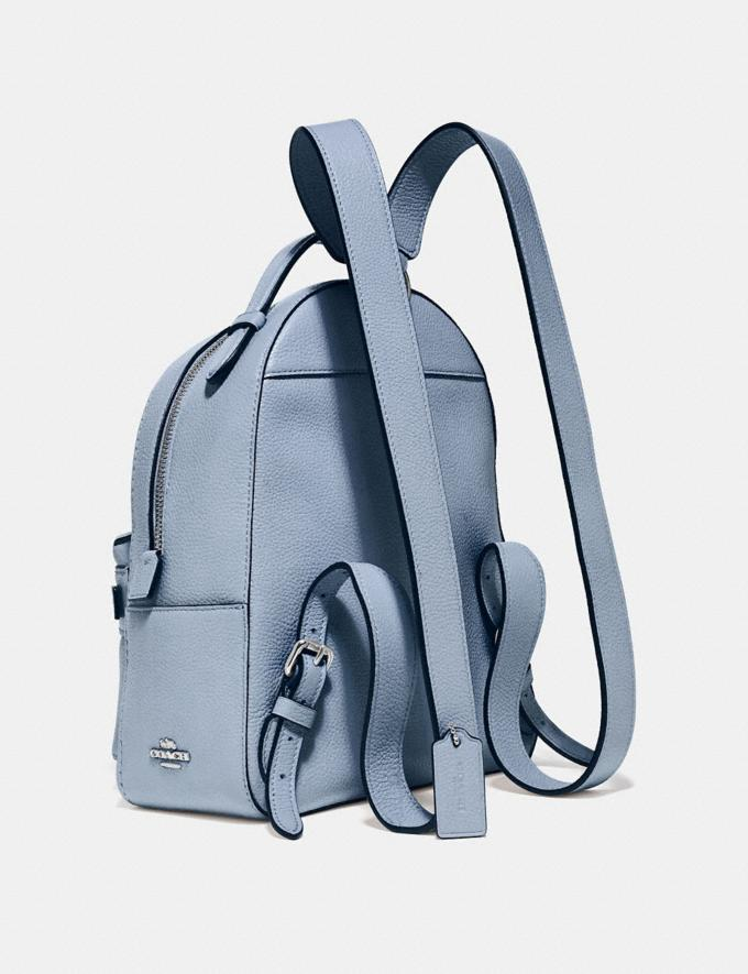 Coach Campus Backpack 23 Silver/Mist Gifts For Her Alternate View 1
