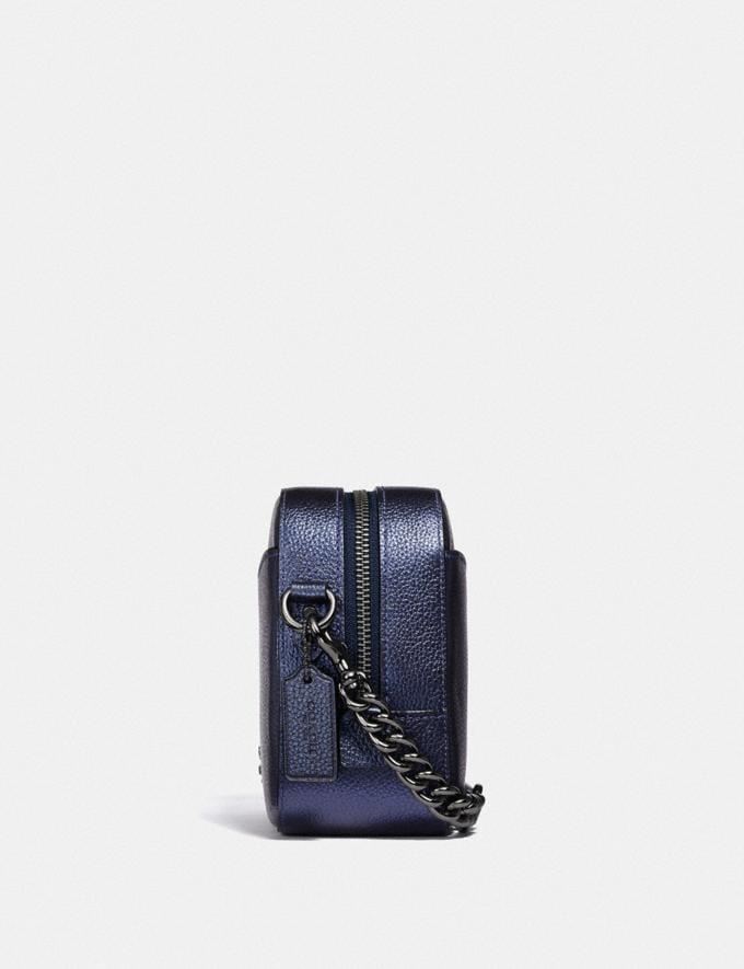 Coach Camera Bag Gm/Metallic Clay Women Bags Crossbody Bags Alternate View 1