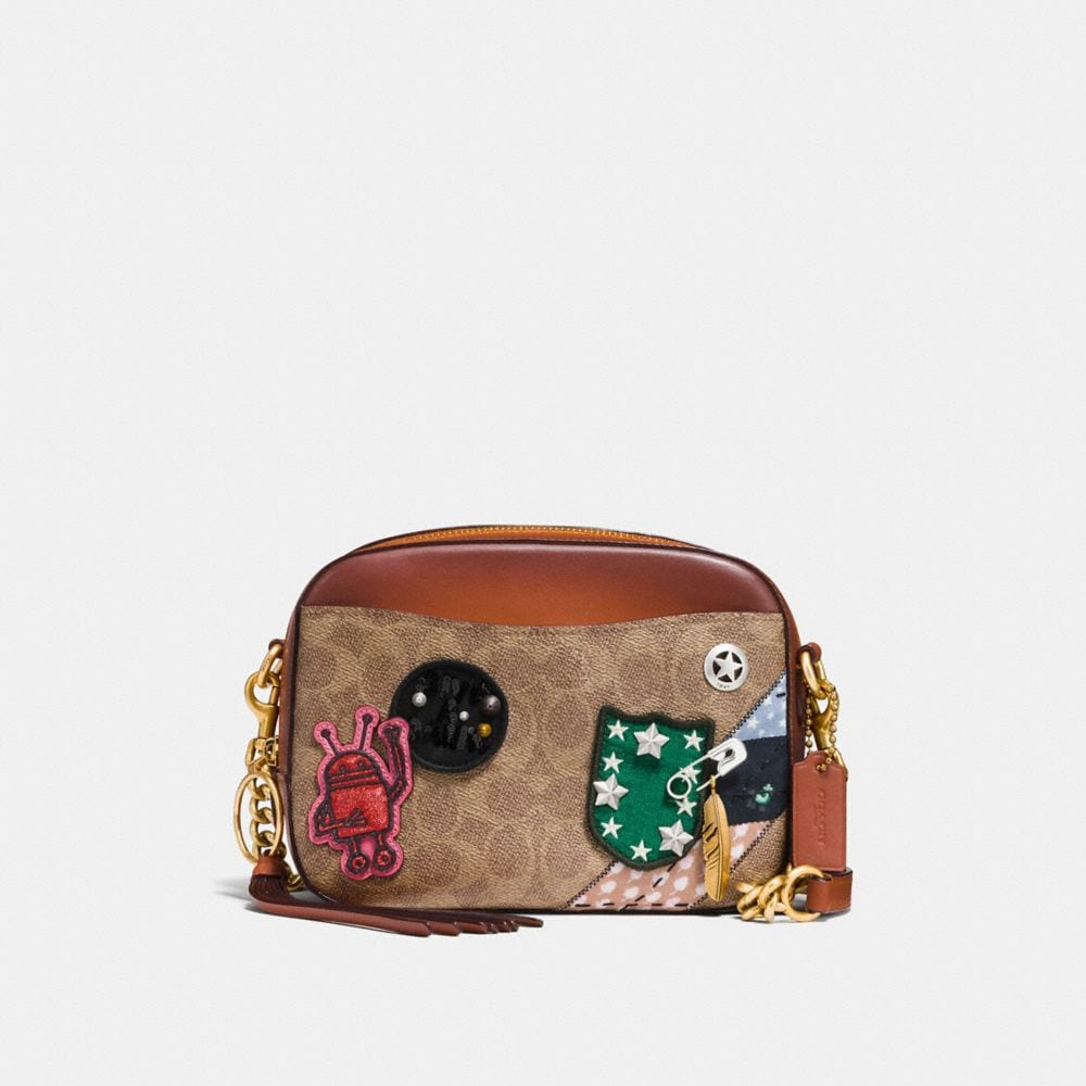 Coach Coach X Keith Haring Camera Bag in Signature Patchwork