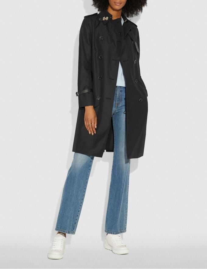 Coach Trench Black