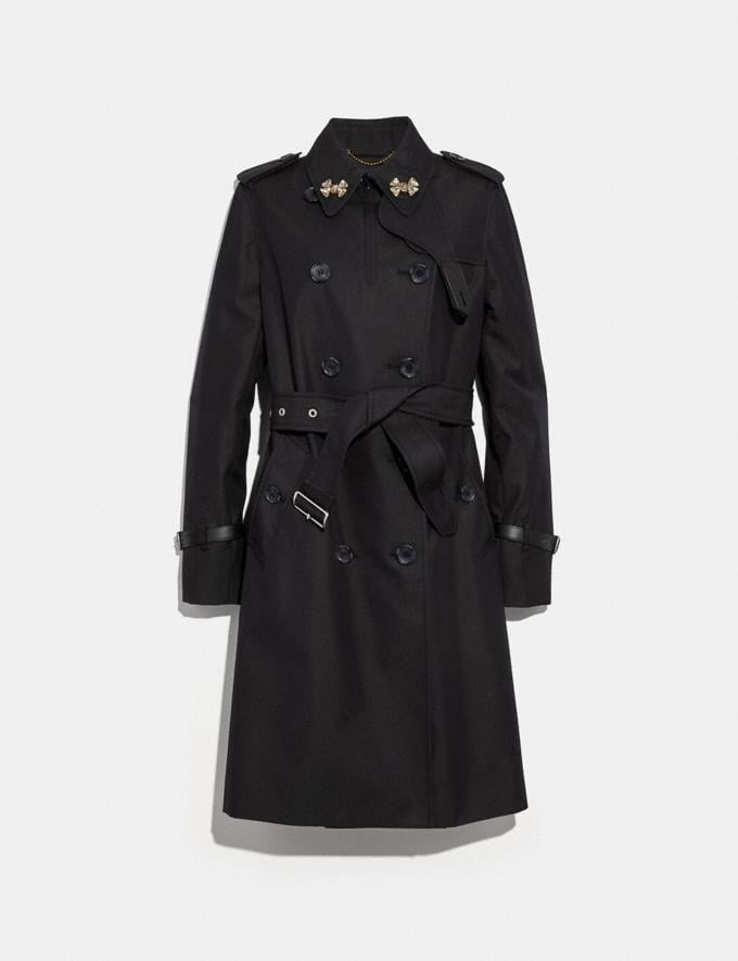 Coach Trench Black  Alternate View 1