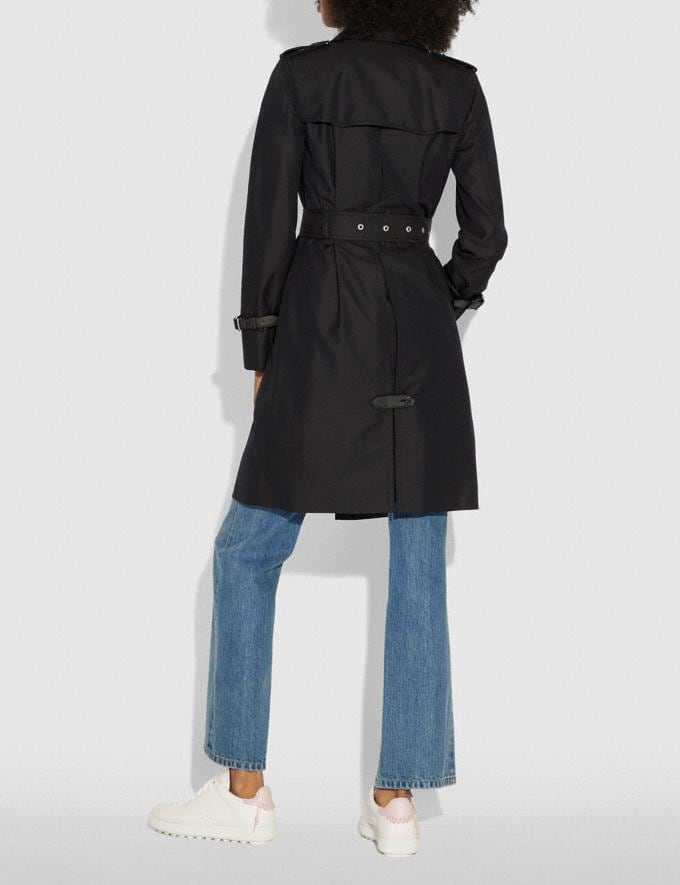 Coach Trench Black  Alternate View 2