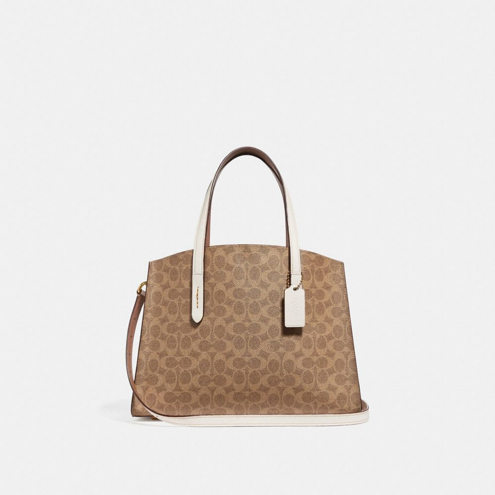 charlie carryall in signature canvas