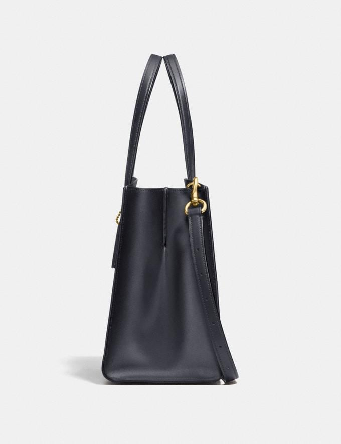 Coach Charlie Carryall in Signature Canvas Charcoal/Midnight Navy/Light Gold Personalise For Her Bags Alternate View 1