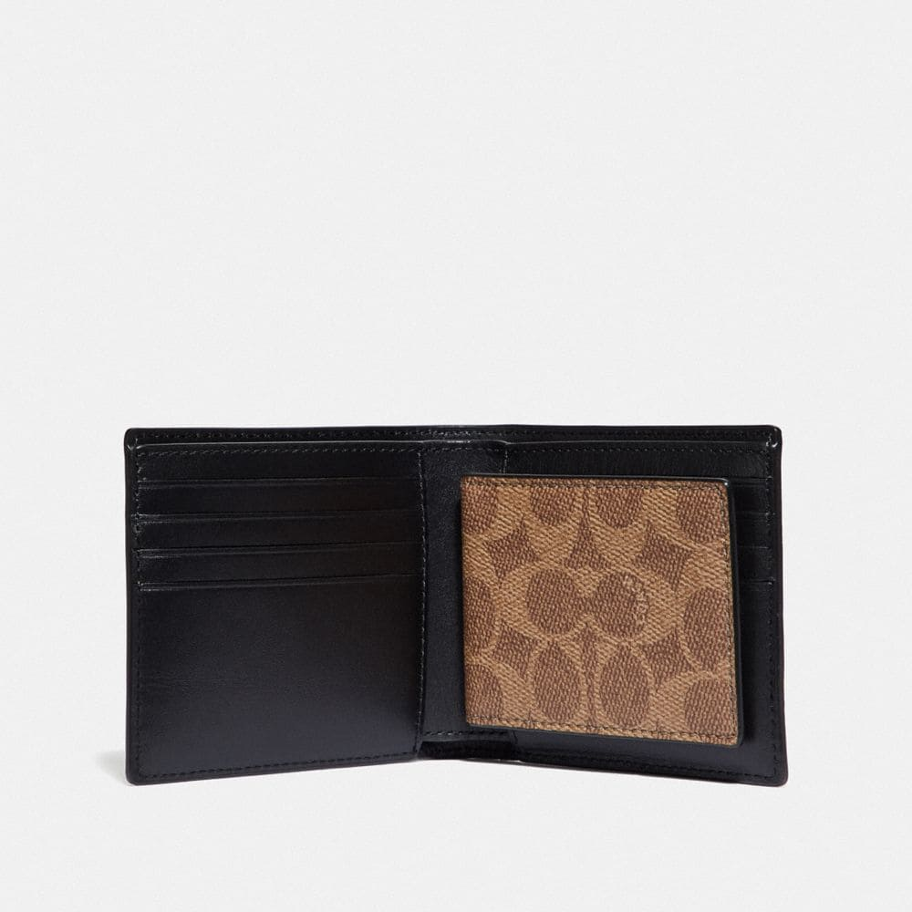 Coach 3-In-1 Wallet in Signature Canvas Alternate View 1