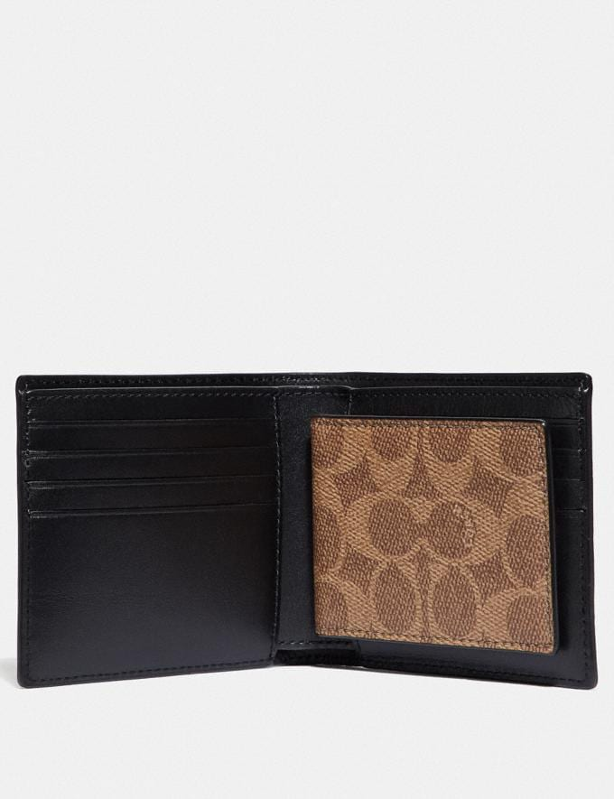 Coach 3-In-1 Wallet in Signature Canvas Khaki 30% off Select Full-Price Styles Alternate View 1