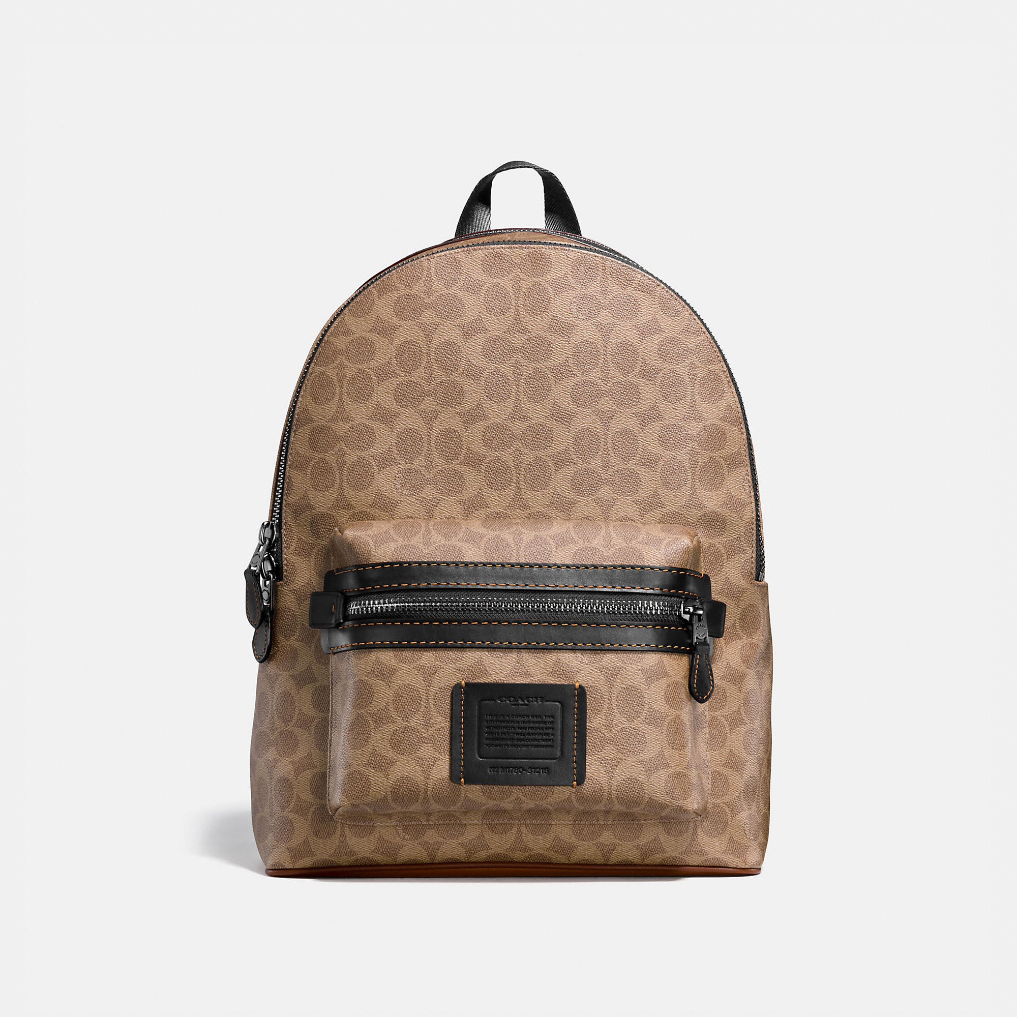 Coach COACH ACADEMY BACKPACK IN SIGNATURE CANVAS - MEN'S