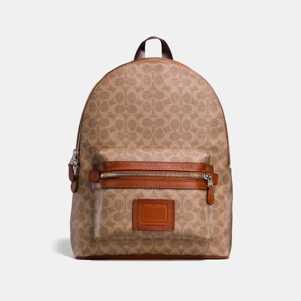 Coach Academy Backpack in Signature Coated Canvas