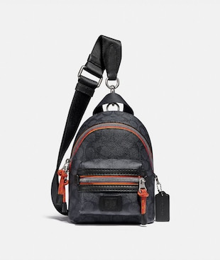 ACADEMY BACKPACK 15 IN SIGNATURE CANVAS