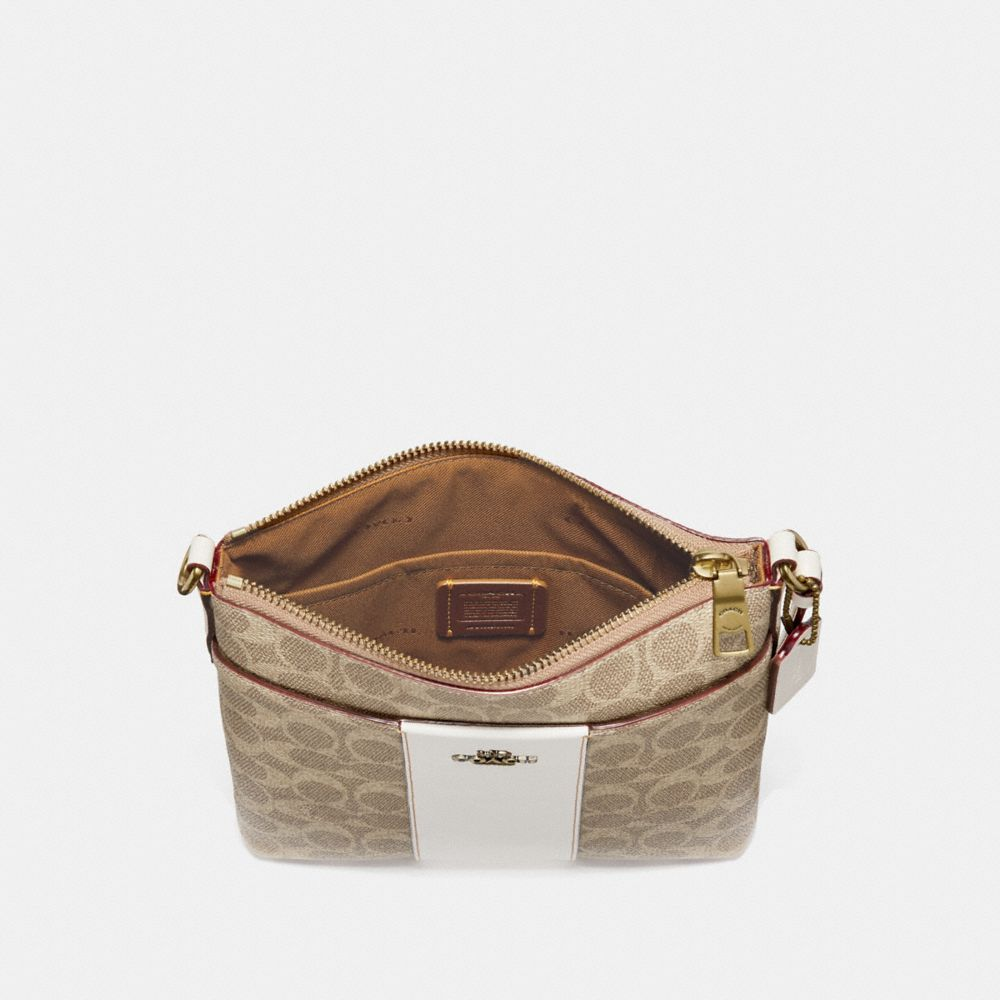 Messenger Crossbody In Blocked Signature Canvas by Coach