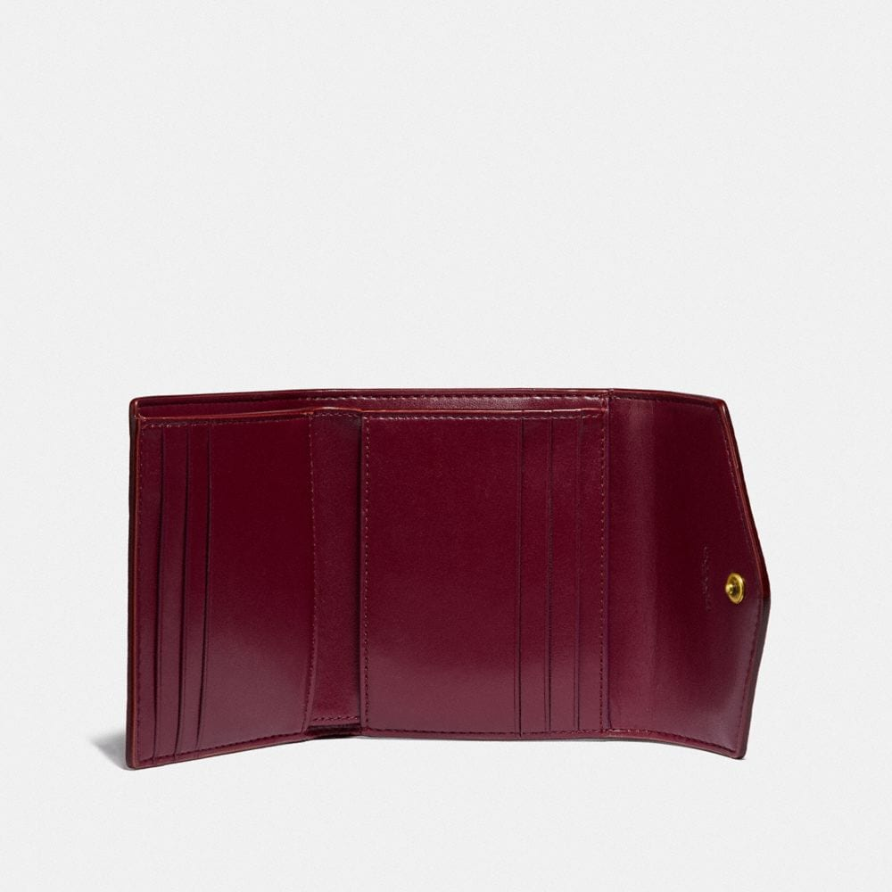 Coach Small Wallet in Colorblock Signature Canvas Alternate View 1