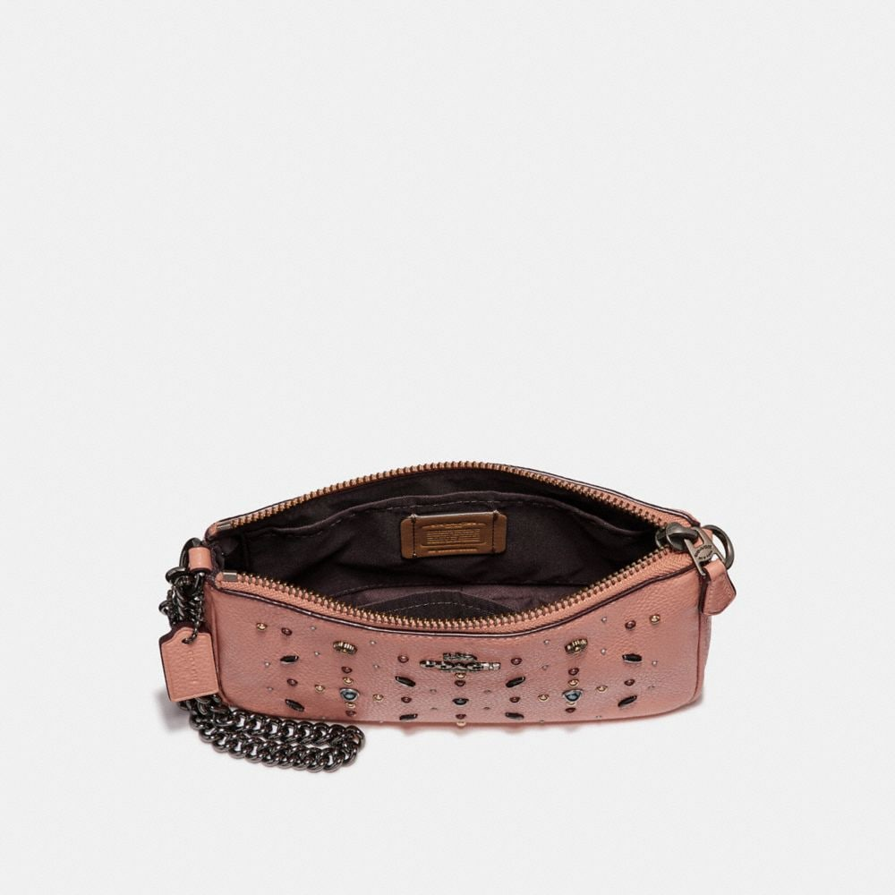 Coach Nolita Wristlet 19 With Prairie Rivets Alternate View 1