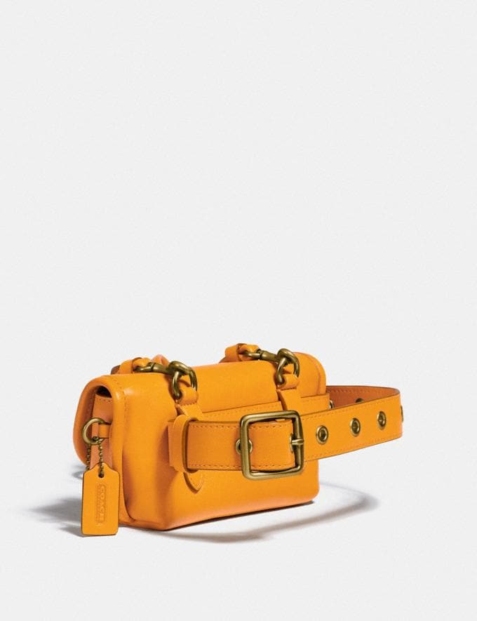 Coach Turnlock Flare Belt Bag B4/Buttercup New Women's New Arrivals Collection Alternate View 1