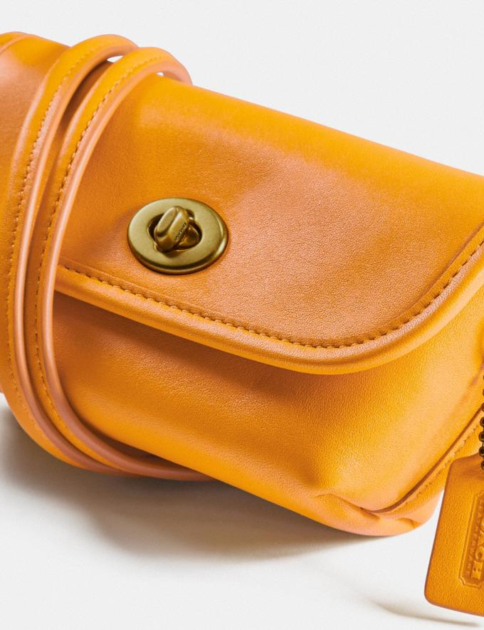 Coach Turnlock Flare Belt Bag B4/Buttercup New Women's New Arrivals Collection Alternate View 3