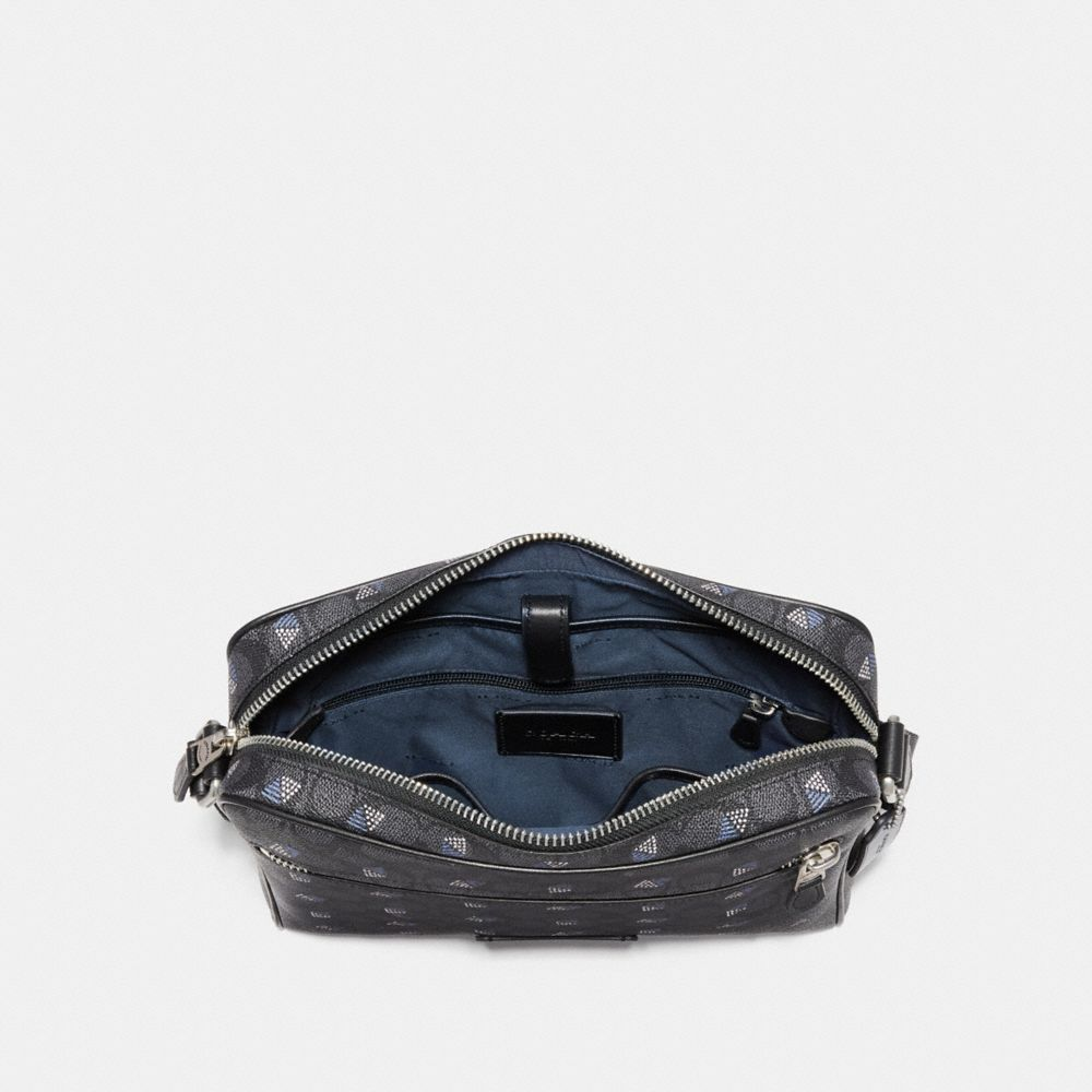 Coach Metropolitan Camera Bag in Signature Canvas With Dot Diamond Print Alternate View 2